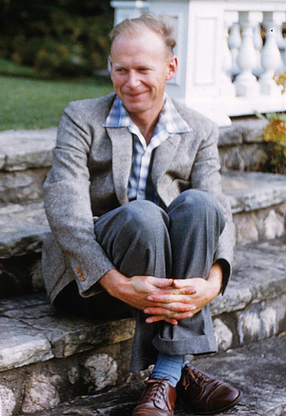 Jim Grant, biologist, educator, and mentor. September 1958. Photo: Phil Jones
