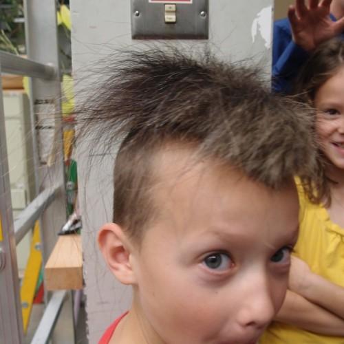 Musk ox hair