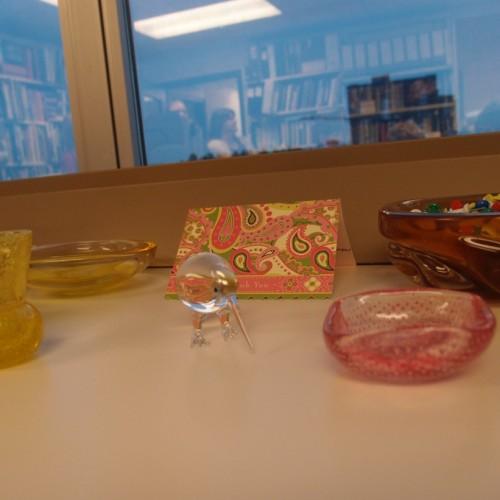 Martha's desk