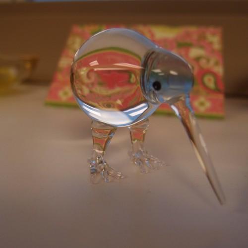 Martha's desk bird