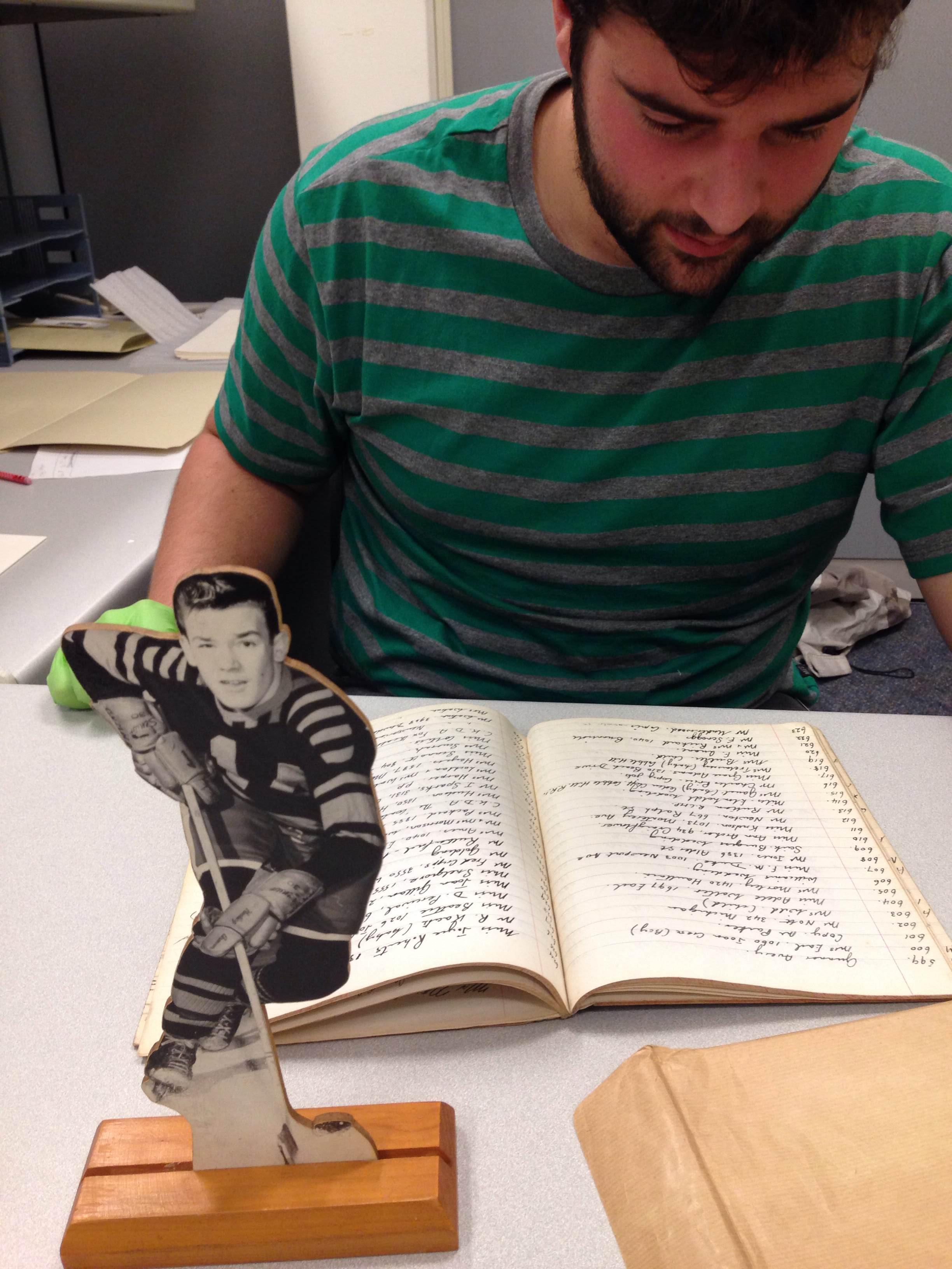 Sam processing Goertz_hockey player and order book